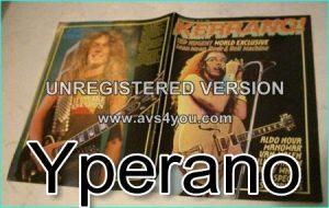 KERRANG No. 61 Ted Nugent, Aldo Nova, Manowar, Van Halen, Shy, 38 Special, Scorpions, Don Airey, John Sykes