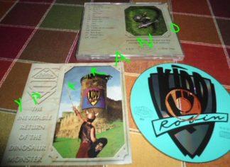 KIDD ROBIN: The Inevitable Return of the dinosaur monster CD. Christian Metal. Rare Independent. Dokken, Stryper. Check samples