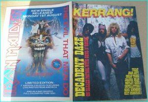 KERRANG - No.198, July 1988 Guns N Roses, Joan Jett, Motley Crue, Impellitteri, Kiss, Megadeth, Pantera