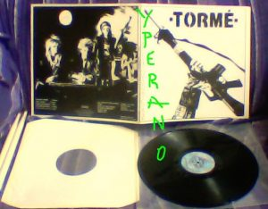 BERNIE TORME: Back to Babylon LP Test pressing RARE in mint condition. L.A. Guns / Girl singer. Check samples n video