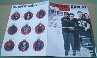 KERRANG - No.932 SUM 41, GARBAGE, (at home with) OPETH, SATYRICON, FINCH, Foo Fighters, ˜A, System of a Down