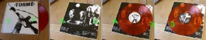 BERNIE TORME: Back to Babylon LP Red transparent vinyl in mint condition. L.A. Guns / Girl singer. Check all samples n video