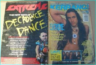 KERRANG No.361, 1991. EXTREME, DEF LEPPARD, NUCLEAR ASSAULT, EUROPE, NYMPHS, GAMMA RAY, CORONER, VAN HALEN, ALICE IN CHAINS