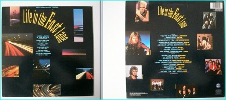 LIFE IN THE FAST LANE Compilation LP