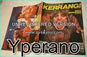 KERRANG NO. 24 Sept. 1982 OZZY OSBOURNE, Gillan, Jimi Hendrix, Tom Petty, Krokus, Manowar