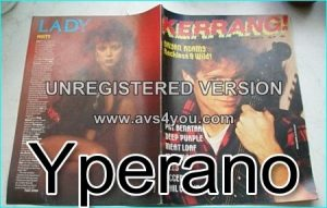 KERRANG NO. 89 MAR 1985 Bryan Adams, Deep Purple, Meat Loaf, Iron Maiden, Scorpions, Ozzy Osbourne, Q5, Accept