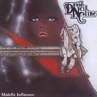David Neil CLINE: Malefic Influence CD CHECK 8 AUDIO SAMPLES. Heavy Rock. A cross between Heavy Metal and Hard Rock. 1989.