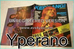 KERRANG NO. 26 October 1982 Rush, Tommy Bolin, Genesis, Gillan, Bow Wow, Lemmy, Who, Marc Bolan, Runaways, Diamond Head