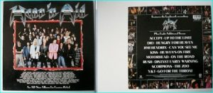 STARS: HEARN AID: An All Star album for Famine relief 1986 [featuring 36 top METAL musicians]