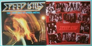Speed Kills - The Very Best In Speed Metal. Music For Nations compilation MFN 54