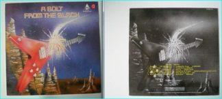 "A BOLT FROM THE BLACK LP. RARE 12"" N.W.O.B.H.M. Thunderbolt Records 1984. Samson, Heretic, Tractor, Underdog, Task Force etc."