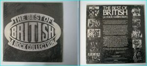 THE BEST OF BRITISH Rare N.W.O.B.H.M compilation LP