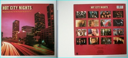 HOT CITY NIGHTS Compilation LP Queen, Heart, KISS, Bryan Adams, Robert Plant, Foreigner, Bon Jovi, Billy Idol.
