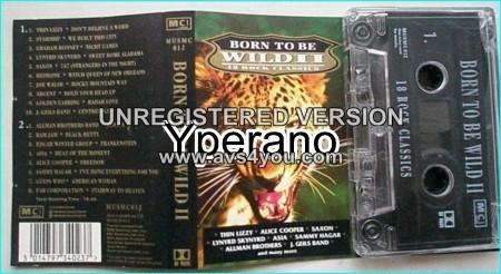 Born to be Wild II Tape 18 Rock Classics