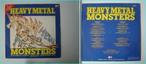 HEAVY METAL MONSTERS N.W.O.B.H.M / Heavy Metal RARE Double LP compilation