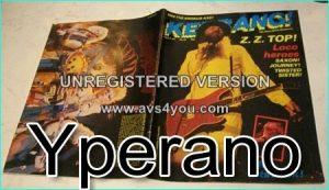 KERRANG No.39 APR 1983 ZZ Top Cover, Saxon, Journey, Twisted Sister, Dio, Krokus