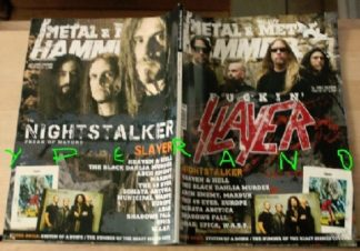 Metal Hammer 298, Oct. 10/2009 Slayer on cover, Nightstalker on cover,W.A.S.P., Arch Enemy, Marduk, The 69 Eyes, Europe, Anthrax