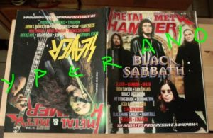 Metal Hammer 166, 10/98 Oct 1998. Black Sabbath on cover, Slayer on cover, Bruce Dickinson, Warrior, Death, Dream Theater