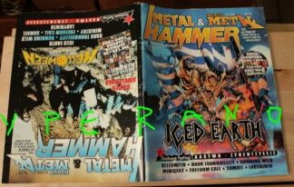 Metal Hammer 176, 8/99 Aug 1999. Iced Earth on cover, Helloween on cover, Running Wild, Manowar, Mercyful Fate, Sodom, Immortal