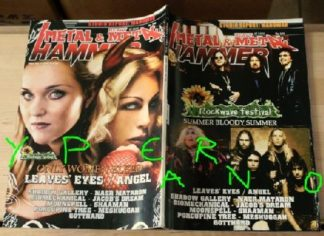 Metal Hammer 246, June 6/2005 Black Sabbath,Twisted Sister,Slayer on cover, Leaves Eyes, Angel on cover, Manowar, Sepultura