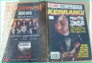 KERRANG - No.248 Testament, Phantom Blue, Night Ranger, Michael Monroe, Hanoi Rocks, Angelwitch, N.W.O.B.H.M SPECIAL