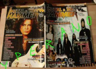 Metal Hammer 214, 10/2002 Oct. Spiritual Beggars on cover, Yngwie Malmsteen on cover, Paradise Lost, Avantasia, Death SS, Riot