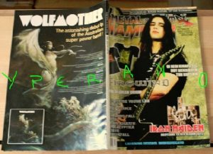 Metal Hammer 259, July 7/2006 Gus G (Firewind) on cover, Iron Maiden, Slayer, Deep Purple, Nightwish, Amon Amarth, Voivod, Lordi