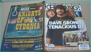 KERRANG - No.1135 TENACIOUS D, Dave Grohl Foo Fighters, MY CHEMICAL ROMANCE, TOOL, Opeth, Walls of Jericho, Killswitch Engage
