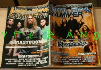 Metal Hammer 238, 10/2004 Nov. Rhapsody on cover, Mastodon on cover, Saxon, Megadeth, Sarissa, Dio, Vader, Pain of Salvation