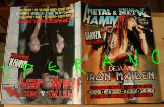 Metal Hammer 177, 9/99 Sept 1999 Iron Maiden on cover, Crimson Glory on cover, HUGE POSTER Iron Maiden, W.A.S.P., Megadeth, Riot