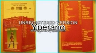 TERRORIZER Out Of Control PROMO TERRORIZER magazine cassette tape. Check samples