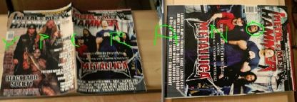 Metal Hammer 221, 5/2003 May. Metallica on cover, Black Label Society on cover, Dream Theater, Bathory, Rage, Lacuna Coil