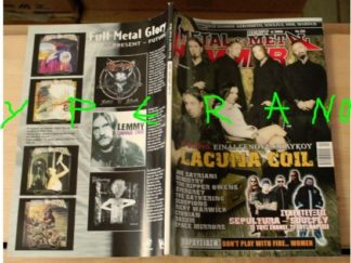 Metal Hammer 256, April 4/2006 Lacuna Coil on cover, Scorpions, Cirith Ungol, Black Sabbath, Soulfly, Sepultura, Him, Gus G
