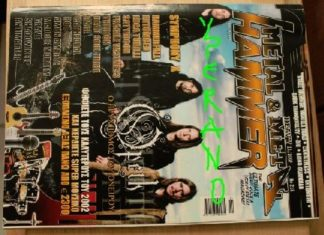Metal Hammer 215, 11/2002 Nov. Opeth on cover, Symphony X on cover, Hammerfall, Satyricon, Therion, Rage, Cathedral, Ted Nugent
