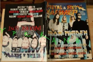 Metal Hammer 173, 5/99 May 1999. Iron Maiden on cover, Paradise Lost on cover, Rotting Christ, Nightwish, Anathema, Cathedral