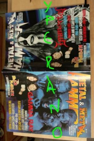 Metal Hammer 171, 3/99 Mar 1999. Gamma Ray on cover, Immortal on cover, Anathema, Uriah Heep, Iron Maiden, Anvil, Skyclad