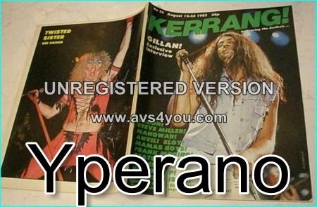 KERRANG NO. 22 AUG 1982 ( IAN GILLAN, Gillan, Saxon, Manowar, Anvil, Hawkwind, Status Quo, Frank Marino, Rage,