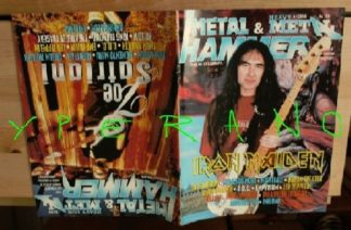 Metal Hammer 159, 4/98 Apr 1998. Iron Maiden Steve Harris on cover, Joe Satriani on cover, Dream Theater, Led Zeppelin, U.D.O.