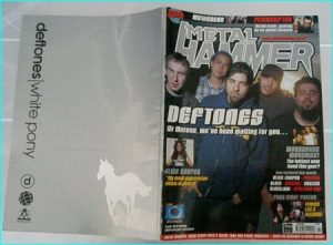 Metal Hammer July 2000 issue 67. DEFTONES COVER. Alice Cooper, Blaze, Apollyon Sun, Deicide, Motorhead, Pitchshifter