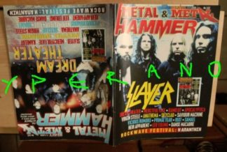 Metal Hammer 162, 7/98 July 1998. Slayer on cover, Dream Theater on cover, Riot, Mercyful Fate, Samael, Skyclad, Primal Fear,