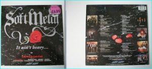 SOFT METAL Compilation LP Heart, Marillion, Whitesnake, Saxon, Ozzy Osbourne, Journey, Meat Loaf, Reo Speedwagon, Europe.