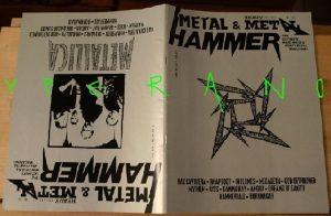 Metal Hammer 155, 12/97 Dec 1997. Metallica on cover, Manilla Road, In Flames, Vanden Plas, Kiss, Gamma Ray, Angra,