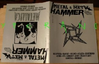 Metal Hammer 155, 12/97 Dec 1997. Metallica on cover, Manilla Road, In Flames, Vanden Plas, Kiss, Gamma Ray, Angra,