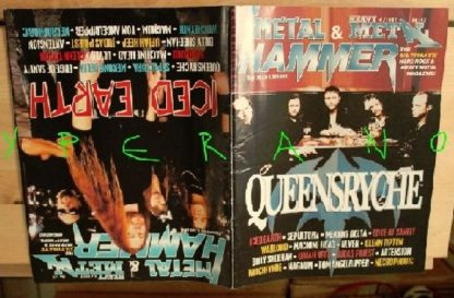 Metal Hammer 147, 4/97 Apr 1997. Queensryche on cover, Iced Earth on cover, Judas Priest, Sepultura, Magnum, Sodom, Warlord