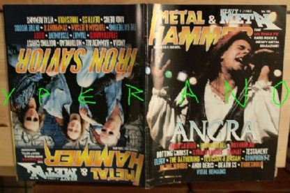 Metal Hammer 150, 7/97 June 1997. Angra on cover, Iron Savior on cover, Symphony X, Hammerfall, Motorhead, Stratovarius, Tiamat