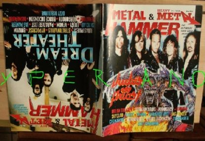 Metal Hammer 154, 10/97 Oct 1997. Judas Priest on cover, Dream Theater on cover, Motorhead, Skyclad, Venom, Bruce Dickinson