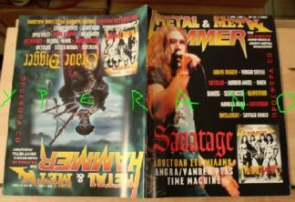 Metal Hammer 144, 1/97 Jan 1997 Savatage on cover Grave Digger on cover, Virgin Steele, Skyclad, Angra, Omen, Manilla Road