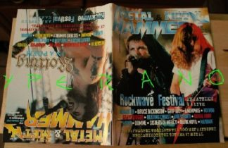 Metal Hammer 152, 9/97 Sept 1997. Iron Maiden, Megadeth on cover, Rotting Christ on cover, Megadeth, Bruce Dickinson, Voivod