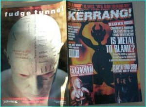KERRANG - No.514 BLACK METAL Satanic Terrorism, PARADISE LOST, SLAYER, STRYPER, THE ALMIGHTY, BLACK SABBATH