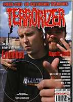 TERRORIZER 60. NOV 1998 ENTOMBED, NAPALM DEATH, ENSLAVED mint condition, includes 18 song CD